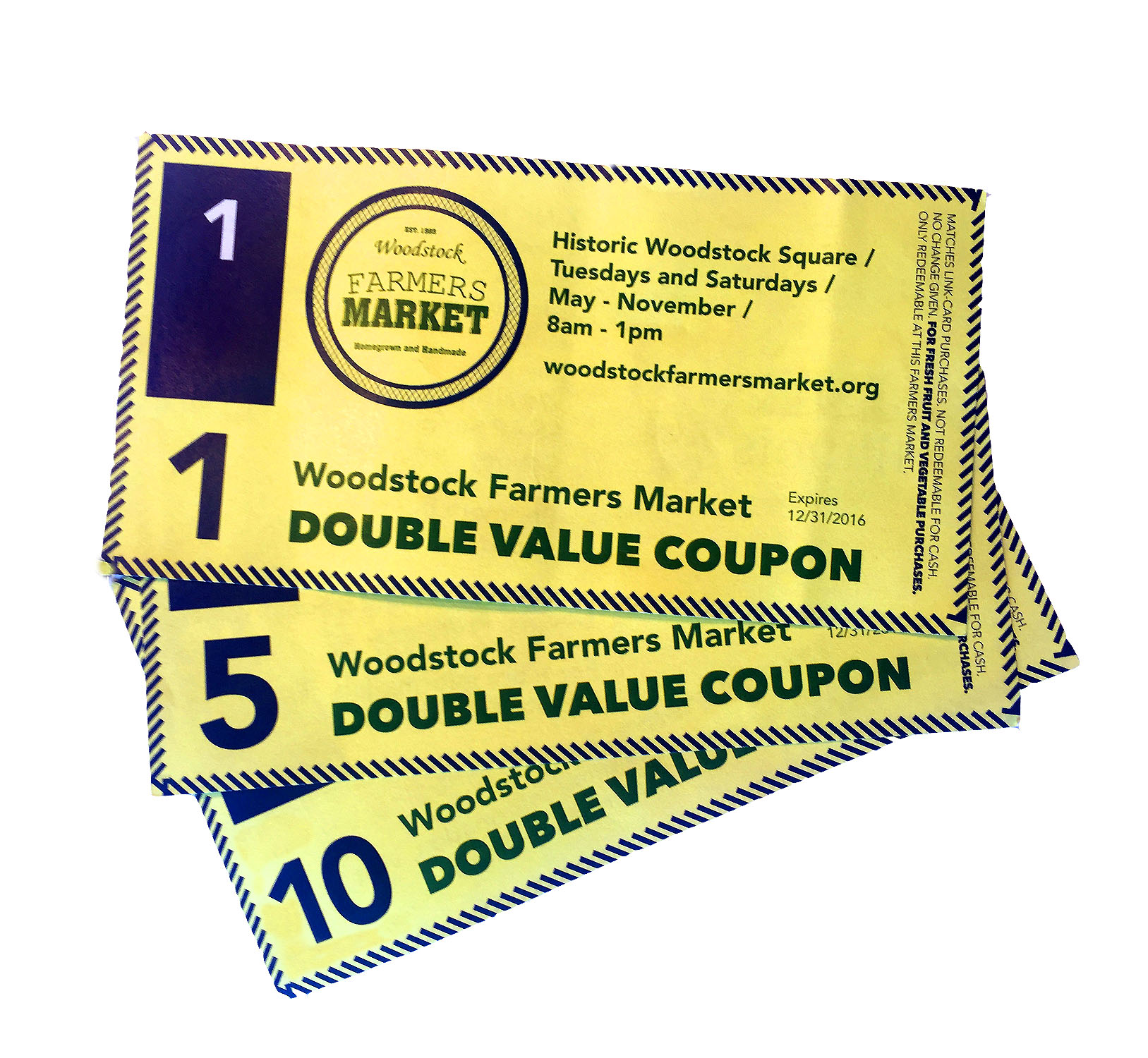 Double coupons city market